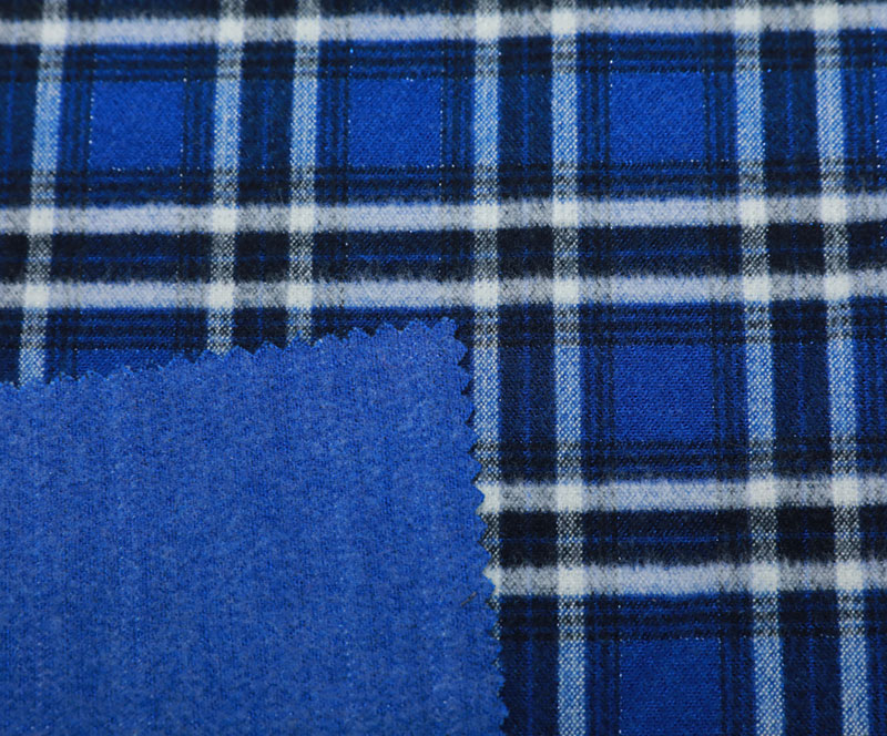 Plaid Cloth 1058(T/R/SP WOVEN FABRIC、OVERCOAT,GRID)