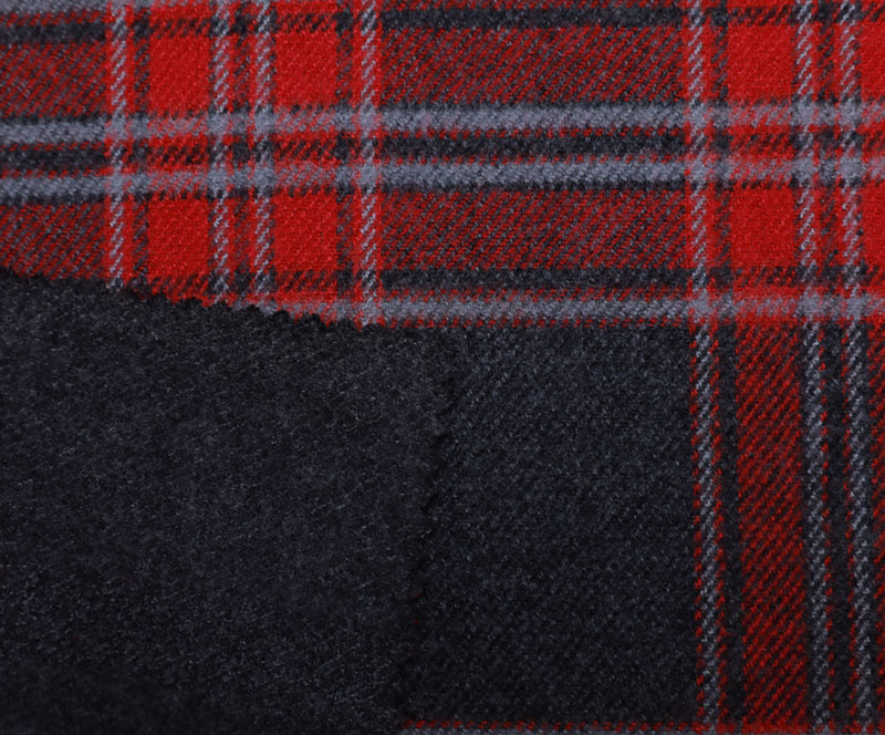Plaid Cloth 1078(T/R WOVEN FABRIC、OVERCOAT,GRID)