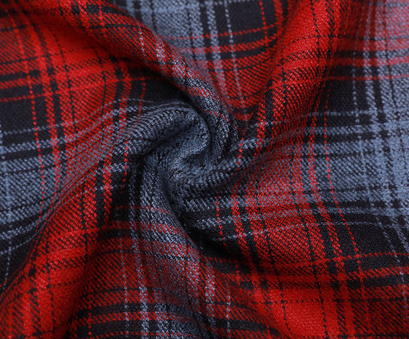 Plaid Cloth 1126(T/R WOVEN FABRIC、OVERCOAT,GRID)
