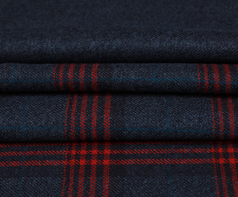 Plaid Cloth 1181(T/R WOVEN FABRIC、OVERCOAT,GRID)