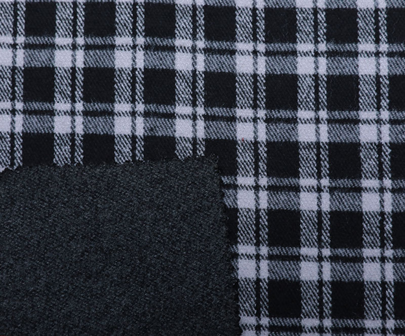 Plaid Cloth 1268(T/R WOVEN FABRIC、OVERCOAT,GRID)