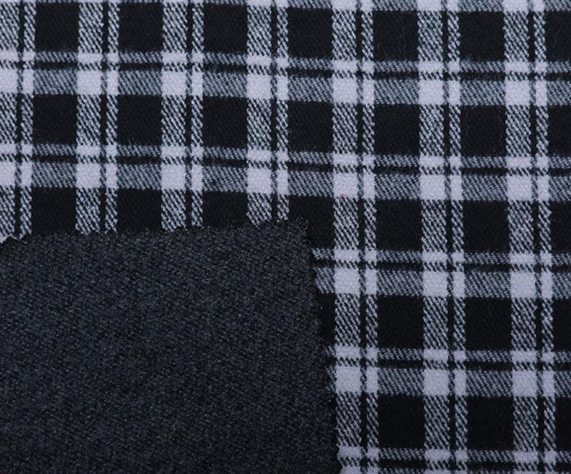 Plaid Cloth 1268(T/R WOVEN FABRIC、OVERCOAT,GRID)