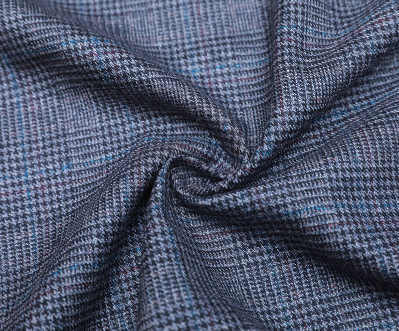 TR Cloth 1613(T/R WOVEN FABRIC、MAN'S SUIT、GRID)