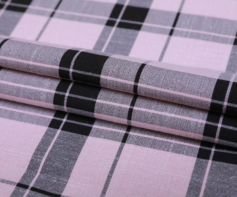 Plaid Cloth 1850-3(T/R/SP WOVEN FABRIC、SHIRT、PANTS)