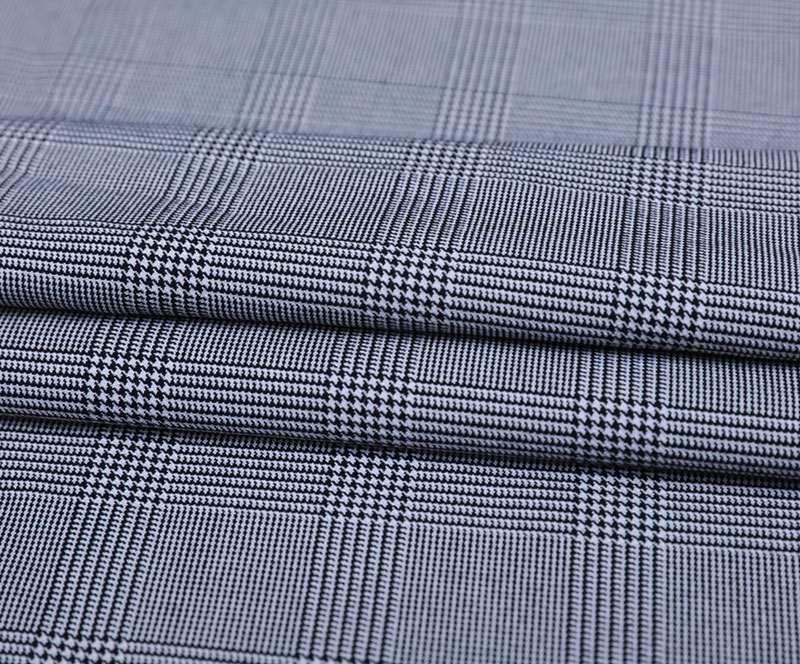 TR Stretch Cloth 3287(T/R/SP WOVEN FABRIC、SUIT、PANTS、GRID)