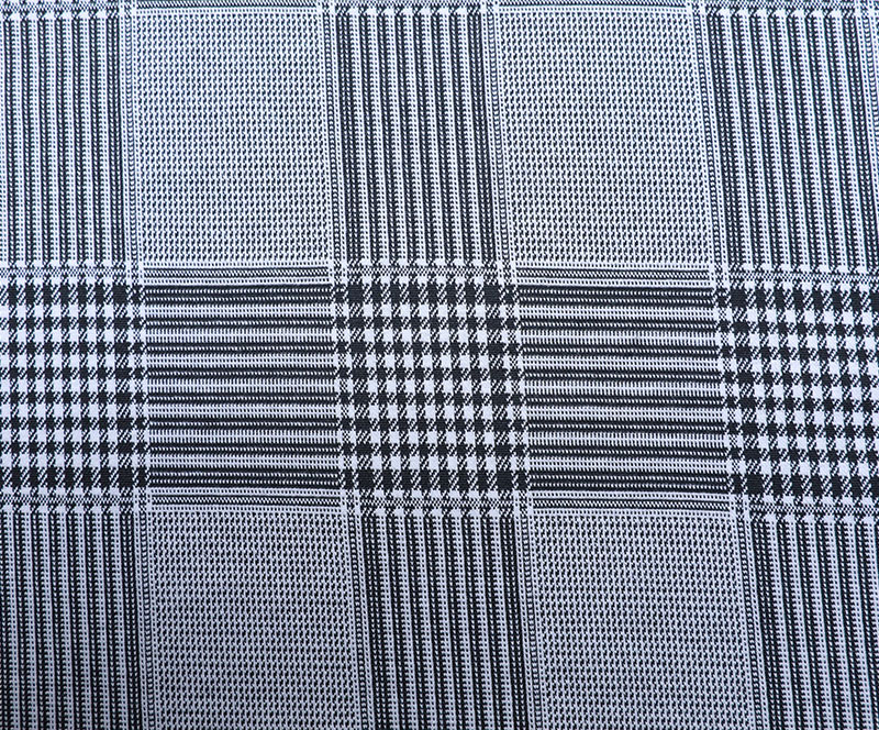Characteristics and appearance of knitted single-sided cotton jacquard fabric