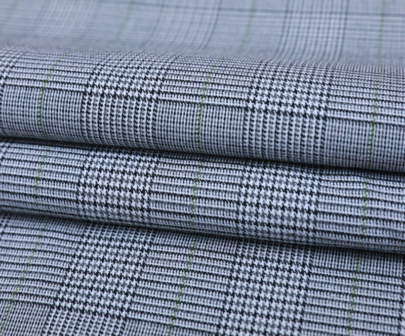 Plaid Cloth 3381(T/R/SP WOVEN FABRIC、SUIT、PANTS)
