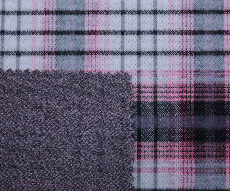 Plaid Cloth 989(T/R WOVEN FABRIC、OVERCOAT,GRID)